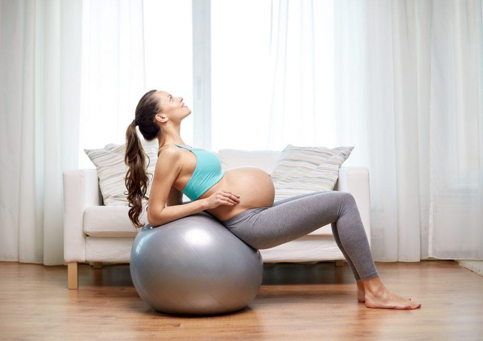 8 trucos para mantenerte en forma durante el embarazo
