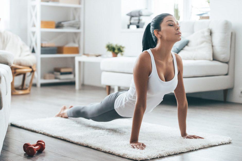 Transforma tu cuerpo con 10 minutos de ejercicios al día en casa